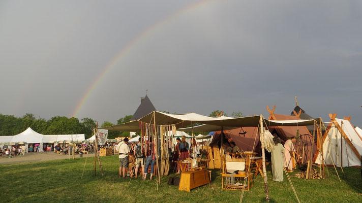 Sämtliche Gewitter sind an diesem Wochenende vorbeigezogen und bescherten uns magische Momente