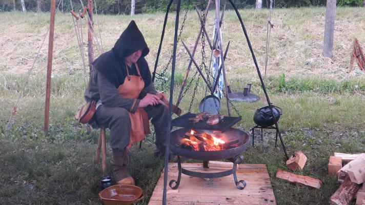 Kein Küchenzwerg, sondern 1,84 Meter geballte nordische Kochleidenschaft ;-)