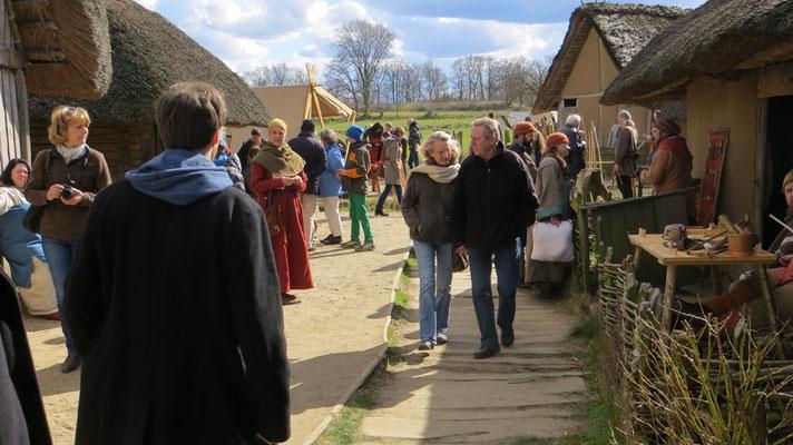 Und die Besucher strömen. Über 12.000 am Osterwochenende.