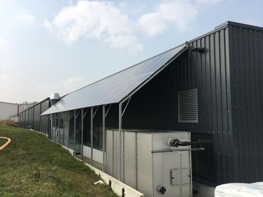 Solarpanel Unterkonstruktion