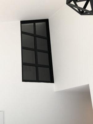 Fenster im Industrie Style