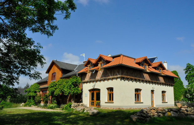 Gartensaal für Frühstück, kleine Events und Seminare (Herberge Dahrendorf)