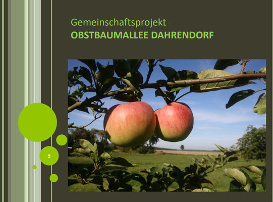 Obstbaumprojekt Dahrendorf