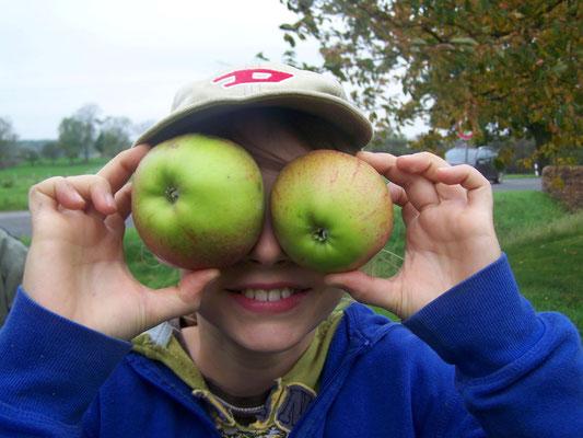 """Apfelmosten-Aktion in der """"Herberge am kleinen Weingarten Dahrendorf""""_08"""