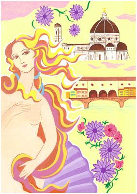 もしも、何処にでも住めるなら?私の答え「イタリアのフィレンツェで毎日美術館三昧と美術館のような街を練り歩く」