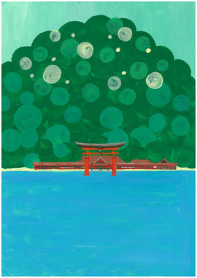 もしも、パワースポットをお勧めするなら?私の答え「広島の宮島。厳島神社はもちろんのこと、その向こうの弥山という山が最高。」