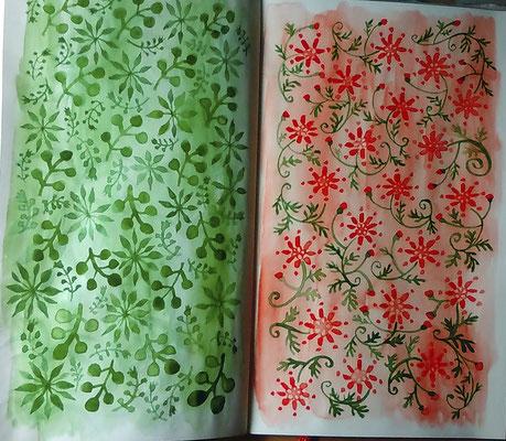 植物からのイメージ。パターン。