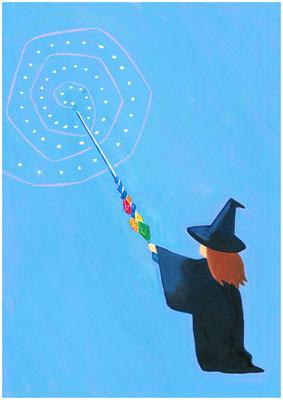もしも、欲しいものが手に入るなら?私の答え「魔法が使える杖。飾りものじゃなくて本当に魔法がつかえたらいいなあ」