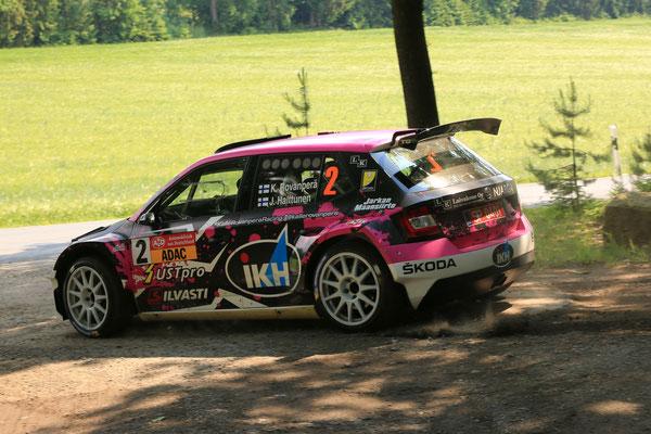 Rovanperä / Halttunen - Gewinner AvD Sachsen-Rallye 2018 - Bild: S. Geisler
