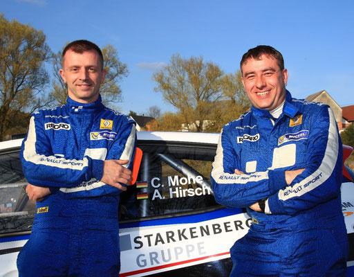 Carsten Mohe und Alexander Hirsch mit Asphalt-Premiere auf einem R5-Fahrzeug