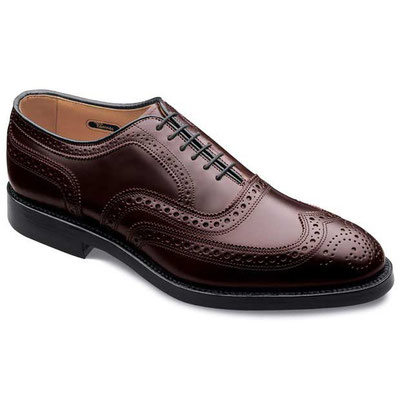 Allen Edmonds Cambrige Cordovan Black 8605 Burgund 8685