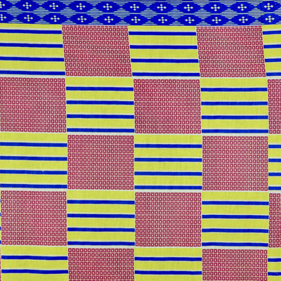 K4 african print kente