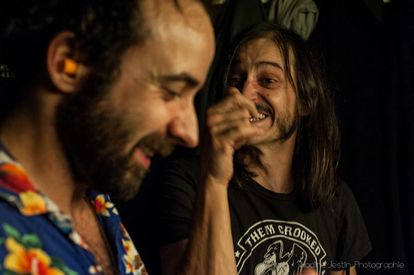 Djay et Ger // Les Perfect Idiots au Bus Palladium