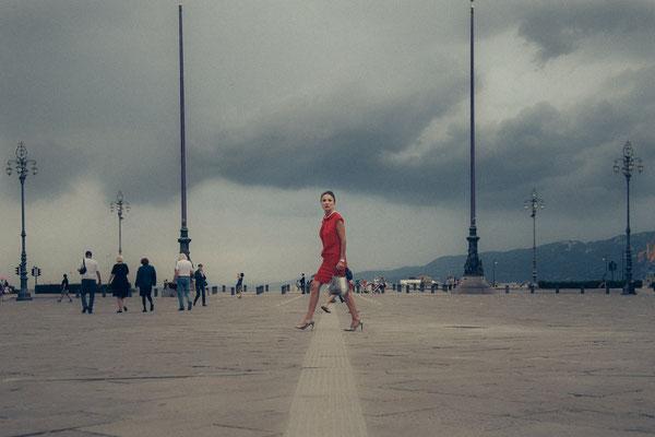 // ADOPTEE PAR VANESSA // 40x60 cm - Ville de Trieste en Italie