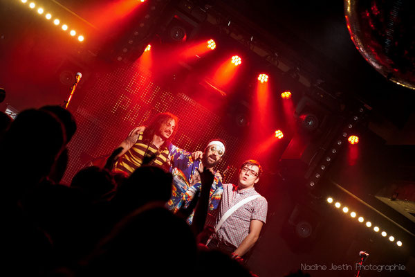 Fin du concert // Les Perfect Idiots au Bus Palladium