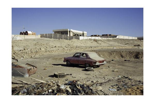 Tirage avec marge blanche (Papier 40x60 cm - Photographie 33x51 cm) - Egypte (oasis de Bahariya)