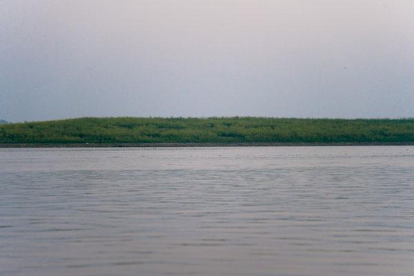 L'autre rive du Gange à Varanasi