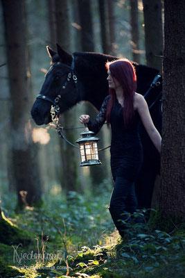 Anna und WB Black Pearl