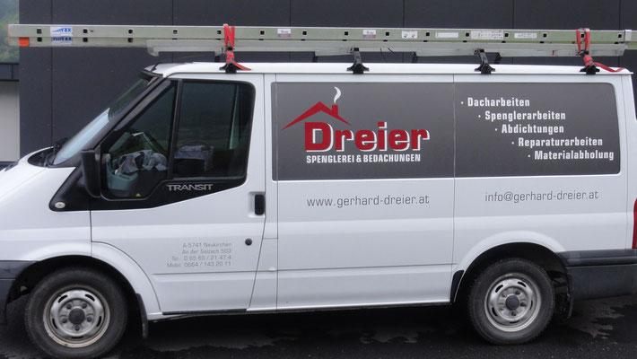 Firmenauto - Dreier Gerhard, Spenglerei & Bedachungen