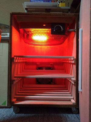 石鹸の保温箱を作りました