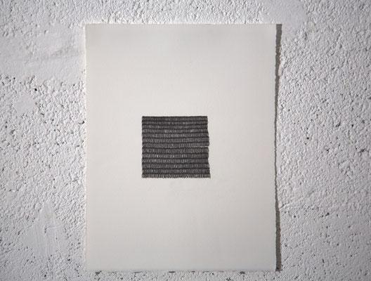 """(°)"", dessin, graphite sur BFK Rives, 25x32,5 cm, 2019"