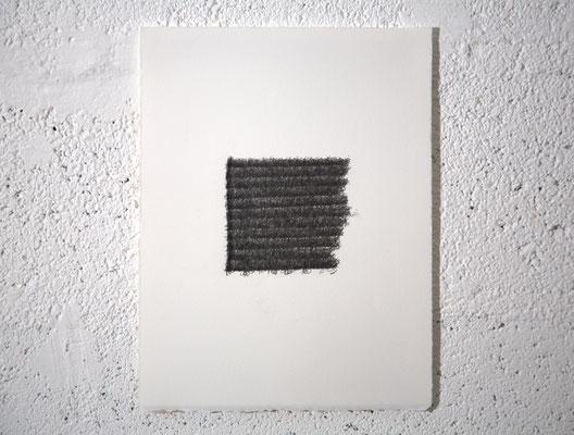 """""""Prenez moi tout, mais laissez-moi l'Extase."""" [E. Dickinson], dessin, graphite sur BFK Rives, 25x32,5 cm, 2019, photo © David Kidman"""