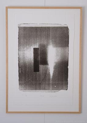 """Adamah"", lithographie E.A. I/II, 33x50 cm, 2017, photo © Toma Bach"