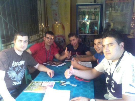 Schüler der Deutschen Sprachschule CCC Villarrica