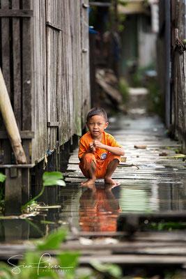 In the suburbs of Banjarmasin