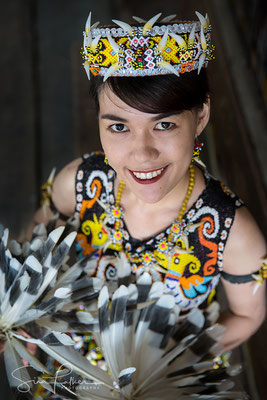 Dayak beauty