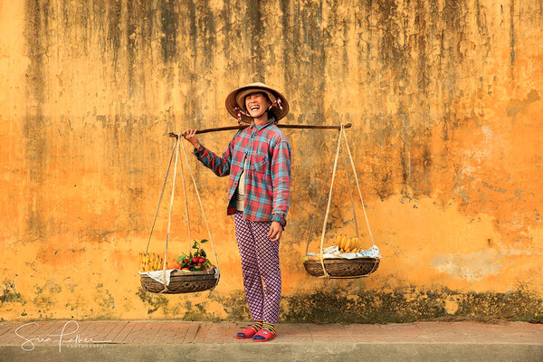 Vietnamese fruit seller