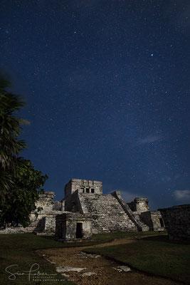 Tulum under the stars