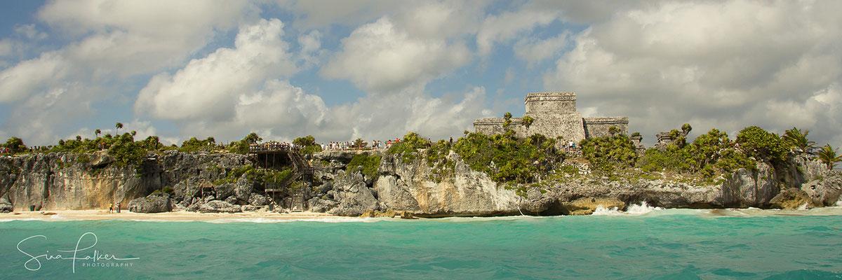 Tulum auf den Klippen der Riviera Maya