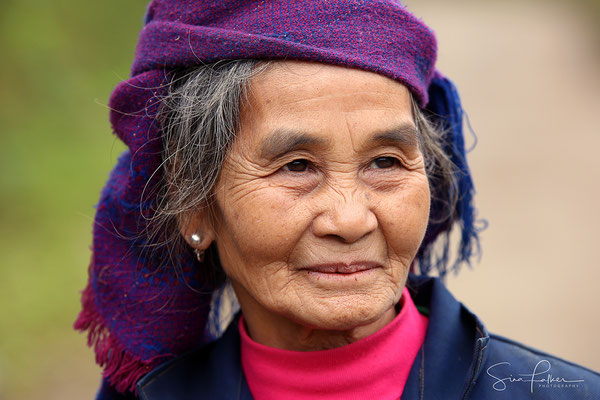 Indigenous woman in the mountains of Mai Chau