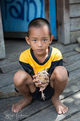 Young Indonesian boy