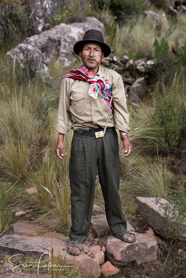 Bolivian farmer