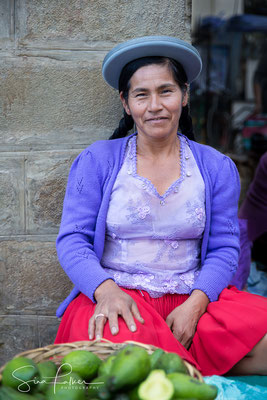 Market woman in Tarija