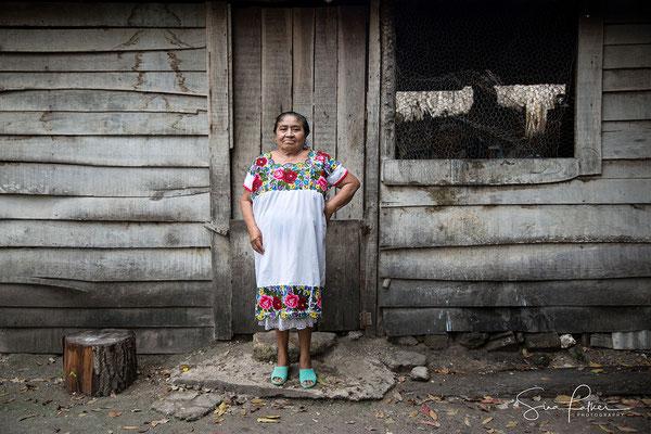 Proud Mayan woman