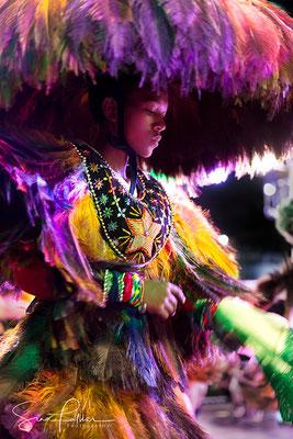 Dancing at the Bumba Meu Boi festival