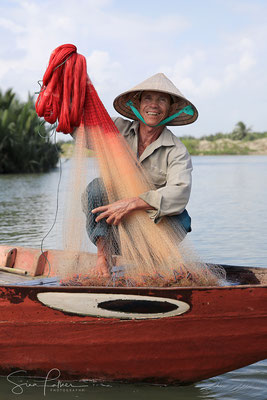 Friendly fisherman