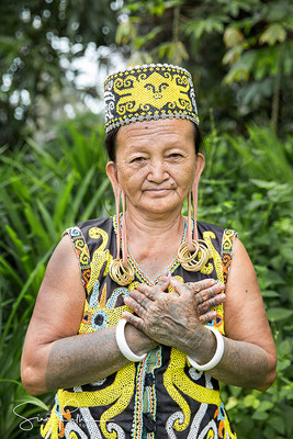 Old Dayak Woman
