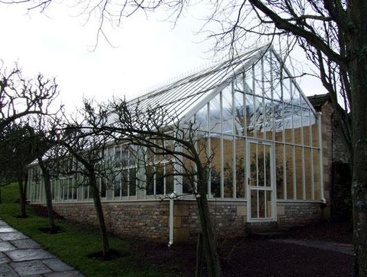 Hartley Botanic englisches Viktorianisches Gewächshaus massgescheidert