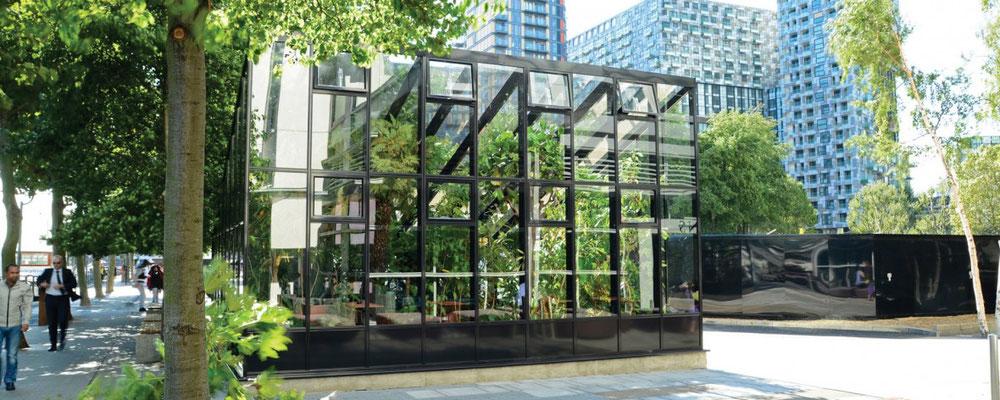 """englische Gewächshäuser von Hartley Botanic """"Grand OPUS """""""