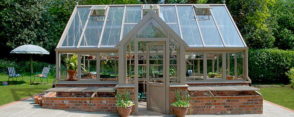"""englische Gewächshäuser von Hartley Botanic """"OPUS Reihe """""""