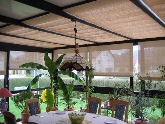 Wintergarten Sonnenschutz Pinoleum