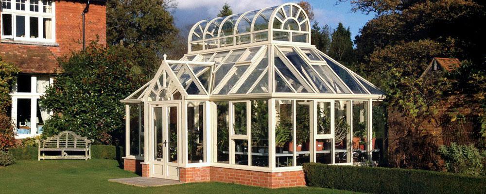 """englische Gewächshäuser von Hartley Botanic """"OPUS Sonderanfertigung """""""
