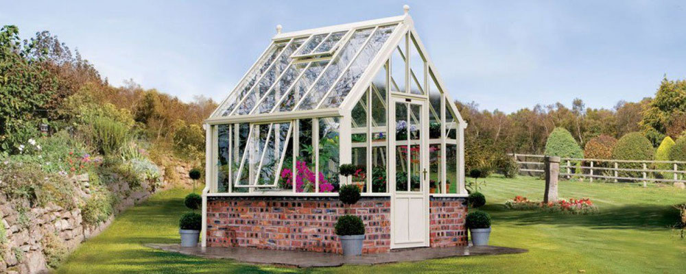 Englische Gewächshäuser von Hartley Botanic, Modell Paxton
