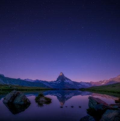 Stellisee und Matterhorn