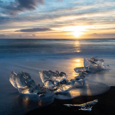 Diamond beach, Breiðamerkursandur