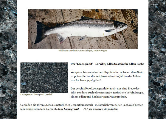Lachs  -  das Lachsgeheimnis